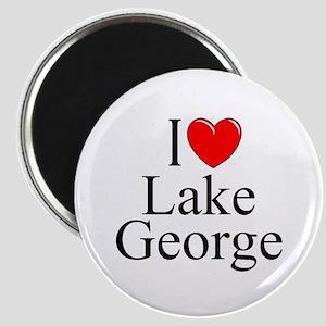 """""""I Love Lake George"""" Magnet"""