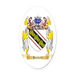 Hesketh Oval Car Magnet