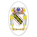 Hesketh Sticker (Oval 50 pk)