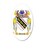 Hesketh 35x21 Oval Wall Decal