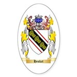 Hesket Sticker (Oval 50 pk)