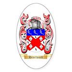 Heselwood Sticker (Oval 10 pk)