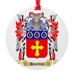 Heseltine Round Ornament
