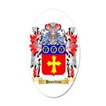 Heseltine Oval Car Magnet