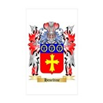 Heseltine Sticker (Rectangle 50 pk)