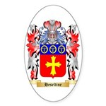 Heseltine Sticker (Oval 50 pk)