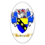 Herzig Sticker (Oval 50 pk)