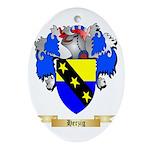 Herzig Ornament (Oval)