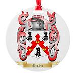 Hervie Round Ornament