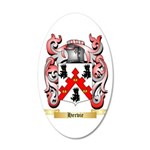 Hervie 20x12 Oval Wall Decal