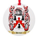 Hervey Round Ornament