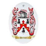 Hervey Ornament (Oval)