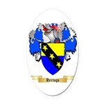Hertogs Oval Car Magnet