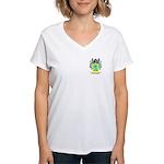 Hertland Women's V-Neck T-Shirt