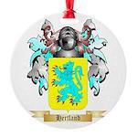 Hertland Round Ornament