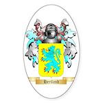 Hertland Sticker (Oval)
