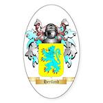 Hertland Sticker (Oval 50 pk)