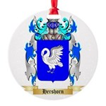 Hershorn Round Ornament