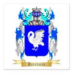 Hershman Square Car Magnet 3