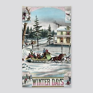 Winter Days Area Rug