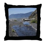 Shelter Cove Beach Throw Pillow