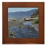 Shelter Cove Beach Framed Tile