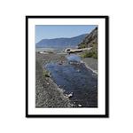 Shelter Cove Beach Framed Panel Print
