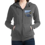 Shelter Cove Beach Women's Zip Hoodie
