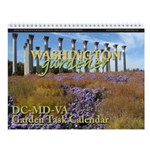 Washington Gardener Magazine Wall Calendar