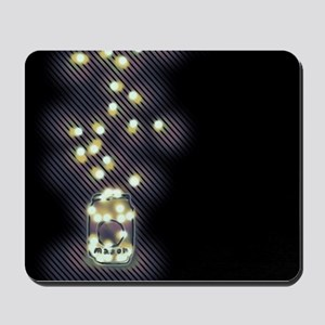 Lightning Bugs Mousepad