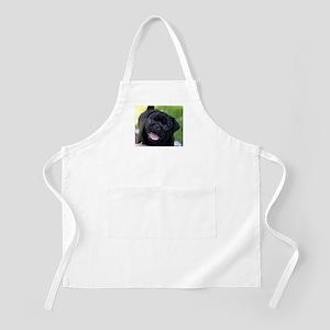 Black Pug Apron