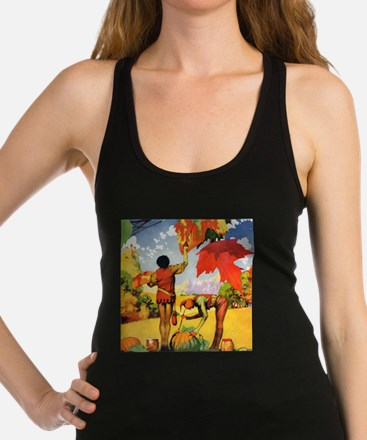 AutumnLeaves_SQ.png Racerback Tank Top