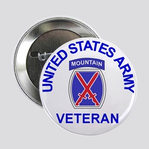 10th Mountain Division <BR>Veteran Button