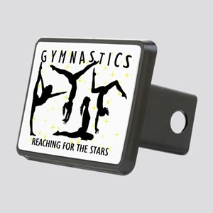 Gymnastics Reaching For Th Rectangular Hitch Cover
