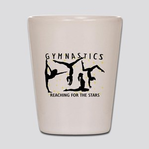 Gymnastics Reaching For The Stars Shot Glass