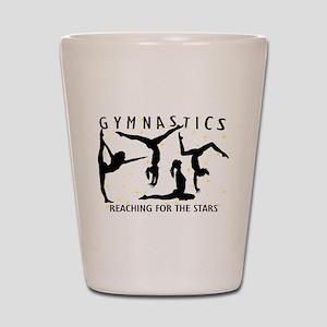 Gymnastics Reaching For The Stars Shot Glass