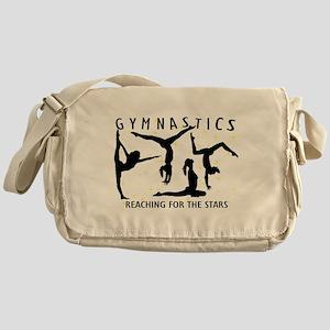 Gymnastics Reaching For The Stars Messenger Bag