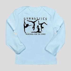 Gymnastics Reaching For Long Sleeve Infant T-Shirt