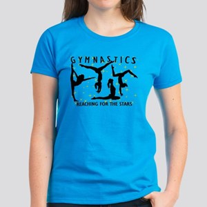 Gymnastics Reaching For The S Women's Dark T-Shirt