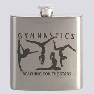 Gymnastics Reaching For The Stars Flask