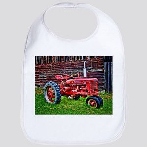 Red Tractor HDR Style Bib