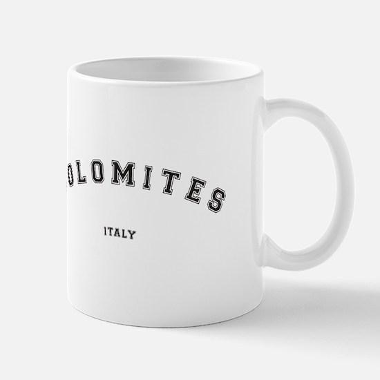 Dolomites Italy Mugs