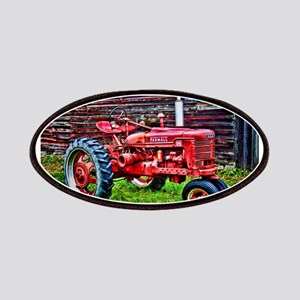 Red Tractor HDR Style Patches