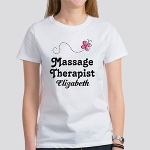Massage Therapist Personalized T-Shirt