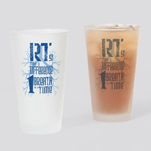 RT-Difference-blue Drinking Glass