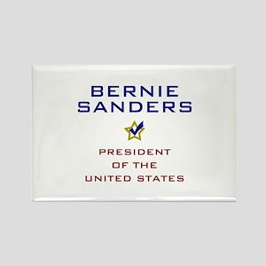 Bernie Sanders President USA V2 Rectangle Magnet