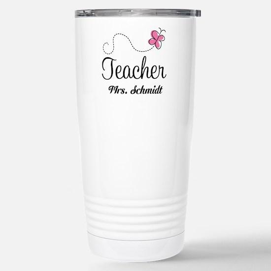 Teacher Cute Personalized Travel Mug