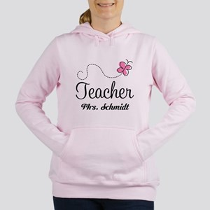 Teacher Cute Personalized Women's Hooded Sweatshir