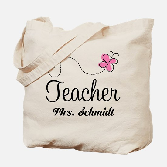 Teacher Cute Personalized Tote Bag