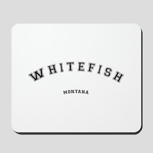Whitefish Montana Mousepad